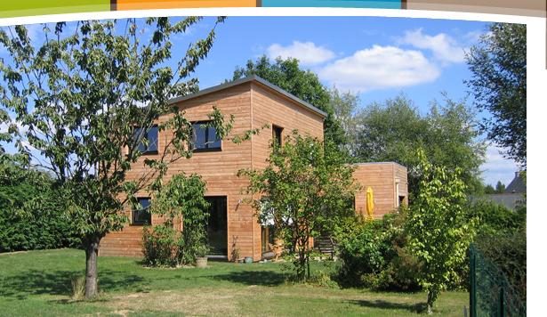 Habitat bois création bureau détude conception de maison ossature